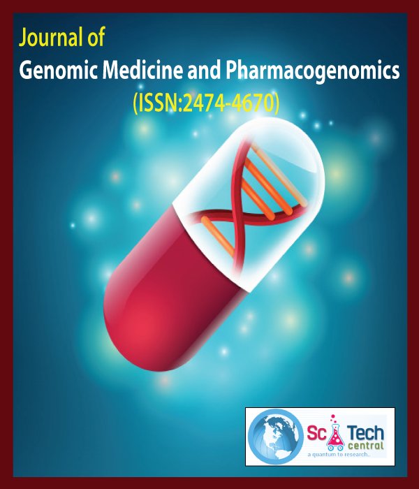 Journal of Genomic Medicine and Pharmacogenomics (ISSN:2474-4670)