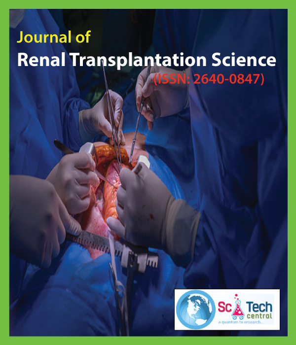 Journal of Renal Transplantation Science (ISSN:2640-0847)