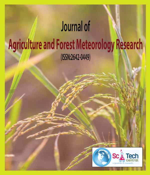 Journal of Agriculture and Forest Meteorology Research (ISSN:2642-0449)