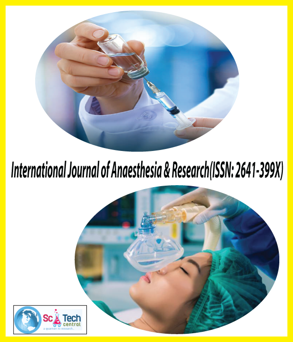 International Journal of Anaesthesia and Research (ISSN:2641-399X)